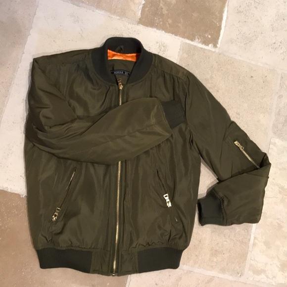 c566b6a18d8 Jackets   Blazers - NYC Boutique Private label Bomber Jacket sz M